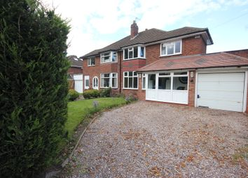 Thumbnail 3 bed semi-detached house for sale in Colebrook Road, Shirley, Solihull