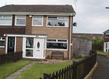 Thumbnail 3 bed end terrace house for sale in Brookland Drive, Killingworth, Newcastle Upon Tyne