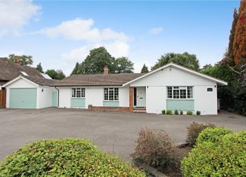 Oakcroft Road, Pyrford, Woking KT14. 4 bed detached bungalow