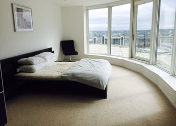 Thumbnail 1 bed flat to rent in Mill Harbour, London Canary Wharf