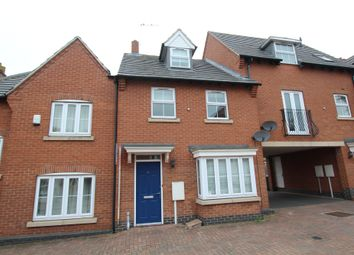 Thumbnail 3 bed town house to rent in Montgomery Road, Earl Shilton, Leicester