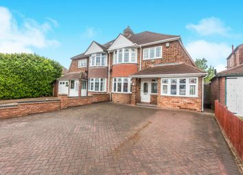 Thumbnail 4 bedroom semi-detached house for sale in Manor Park Road, Castle Bromwich, Birmingham