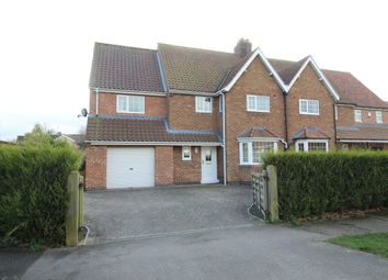 Thumbnail 3 bedroom semi-detached house to rent in Skipwith Road, Escrick, York