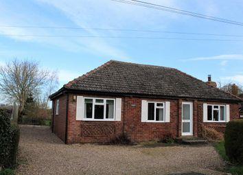 Thumbnail 3 bed detached bungalow for sale in West Lane, Haltham, Horncastle