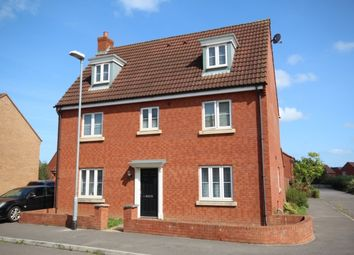 Thumbnail 5 bed detached house for sale in Daisy Close, Bridgwater