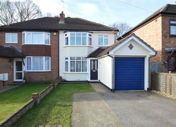 Thumbnail 3 bed semi-detached house for sale in Braycourt Avenue, Walton-On-Thames