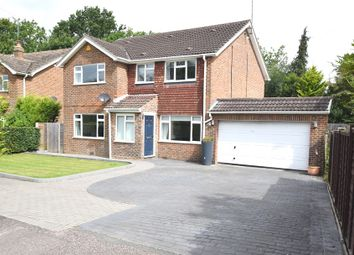 Thumbnail 4 bed detached house for sale in Brookhill Close, Copthorne, Crawley, West Sussex