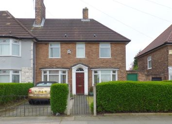 Thumbnail 3 bed terraced house for sale in Hillside Road, Huyton, Liverpool
