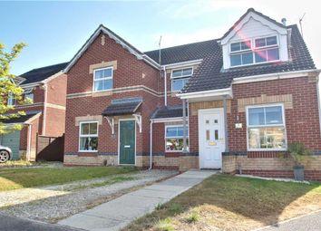 Thumbnail 3 bed semi-detached house for sale in Ripon Close, Bracebridge Heath, Lincoln