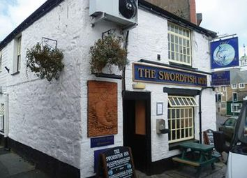 Thumbnail Pub/bar for sale in The Swordfish Inn, The Strand, Newlyn, Penzance