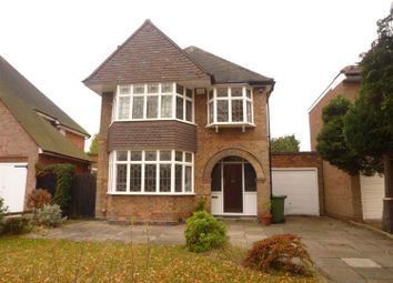 Thumbnail 3 bed detached house to rent in Bourton Road, Olton, Solihull