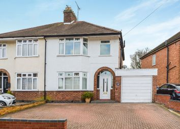 Thumbnail 3 bed semi-detached house for sale in Belmont Road, Rugby