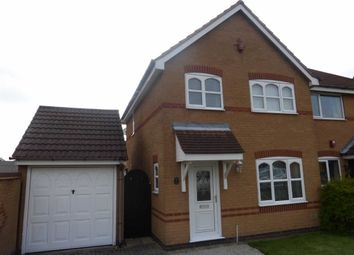 Thumbnail 3 bed semi-detached house to rent in Gainsborough Avenue, Hinckley