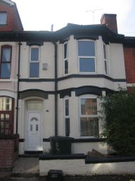 Thumbnail 8 bedroom terraced house to rent in Westminster Road, Earlsdon, Coventry