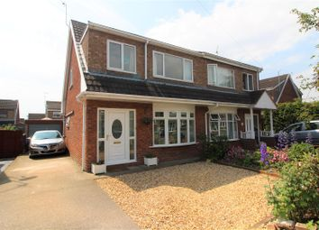 Thumbnail 3 bedroom semi-detached house for sale in Cherry Tree Road, Bradley, Wrexham
