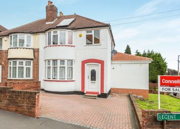 Thumbnail 3 bed semi-detached house for sale in Regent Avenue, Tividale, Oldbury