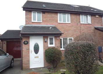 Thumbnail 3 bed semi-detached house to rent in Picton Road, Rhoose, Barry