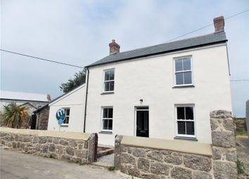 Thumbnail 3 bed detached house for sale in Wesley House, St Levan, Penzance