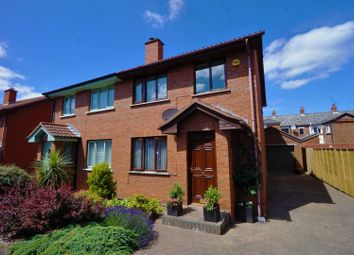 Thumbnail 3 bed semi-detached house for sale in Avonorr Drive, Belfast
