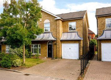 Thumbnail 4 bed detached house for sale in Savery Drive, St James Park, Surbiton