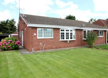 Thumbnail 2 bedroom semi-detached bungalow for sale in Harthill Avenue, Leconfield, Beverley