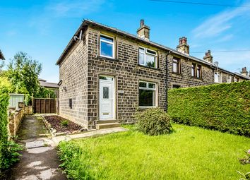 Thumbnail 3 bed terraced house for sale in The Lodge, Linthwaite, Huddersfield