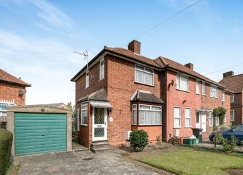 Thumbnail 2 bed semi-detached house for sale in Dunkery Road, London