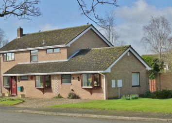 Thumbnail 3 bedroom detached house for sale in Hall Close, Whissendine, Oakham