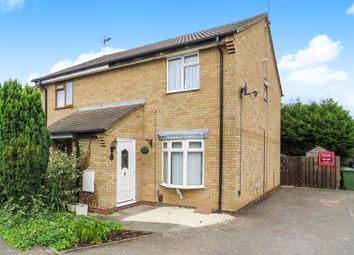 Thumbnail 3 bedroom semi-detached house for sale in Elm Close, Yaxley, Peterborough