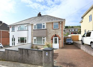 Thumbnail 3 bed semi-detached house for sale in Westway, Plymouth