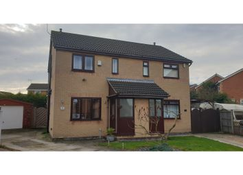 Thumbnail 2 bed semi-detached house for sale in Amorys Holt Way, Rotherham