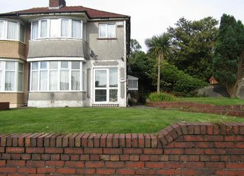 Thumbnail 3 bed semi-detached house for sale in Pentregethin Road, Ravenhill, Swansea