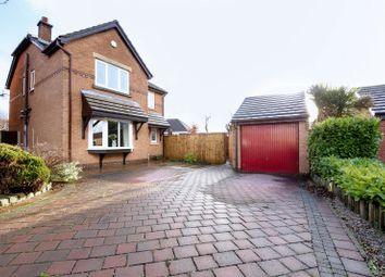 Thumbnail 4 bed detached house for sale in Hartington Drive, Standish, Wigan