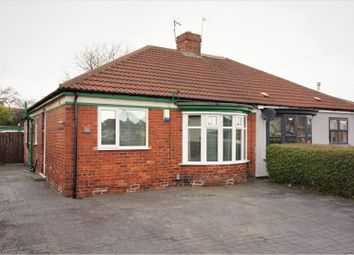 Thumbnail 2 bedroom semi-detached bungalow for sale in Eastbourne Gardens, Middlesbrough