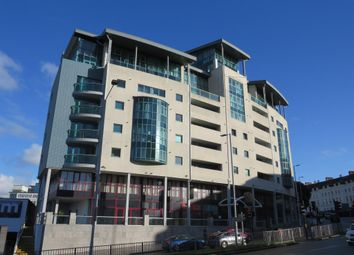 Thumbnail 1 bed flat for sale in Ocean Crescent, The Crescent, Plymouth