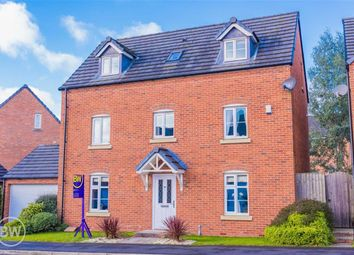 Thumbnail 5 bed detached house for sale in Gibfield Drive, Atherton, Manchester