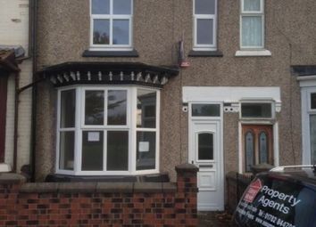 Thumbnail 4 bedroom terraced house to rent in Dundee Road, Etruria, Stoke On Trent