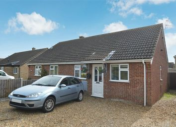 Thumbnail 2 bedroom semi-detached bungalow for sale in Lime Tree Avenue, Wymondham, Norwich, Norfolk