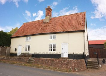 Thumbnail 3 bedroom semi-detached house for sale in The Street, Hacheston, Woodbridge