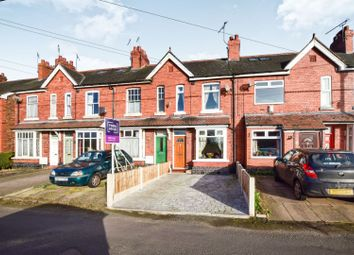 Thumbnail 2 bed town house for sale in Cemetery Road, Crewe