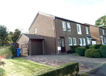 Thumbnail 3 bed semi-detached house for sale in Millburn Court, Gardenhall, East Kilbride