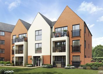 "Thumbnail 2 bedroom flat for sale in ""Lowesby"" at Carters Lane, Fairfields, Milton Keynes"