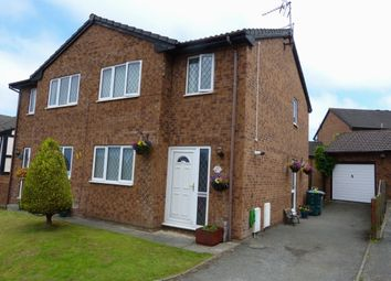 Thumbnail 3 bed semi-detached house for sale in Lon Y Mes, Abergele