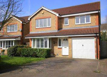 Thumbnail 4 bed detached house for sale in Halsey Drive, Hemel Hempstead