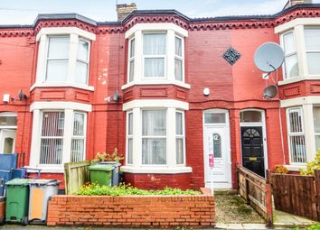 Thumbnail 2 bedroom terraced house for sale in Palatine Road, Wallasey