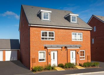 "Thumbnail 4 bed semi-detached house for sale in ""Kingsville"" at Fleece Lane, Nuneaton"