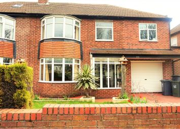 Thumbnail 5 bed semi-detached house for sale in The Broadway, North Shields