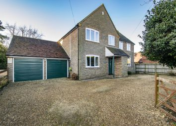 Thumbnail 5 bed detached house for sale in South Stoke Road, Woodcote, Reading