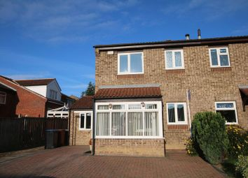 Thumbnail 3 bed semi-detached house to rent in Fawn Close, Newton Aycliffe