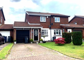 Thumbnail 2 bed semi-detached house for sale in Cinderford Close, Boldon Colliery